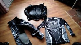 NEW!!!! Wulfsport Body Armour, Trousers and Top