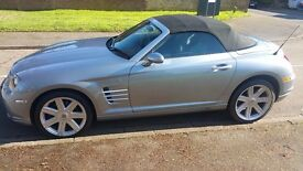 Chrysler Crossfire 3.2 Roadster 2dr Auto low mileage 2006 F/S/H