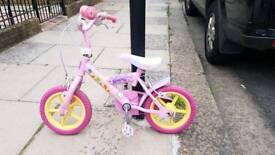 Bicycle Peppa pig girls