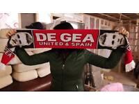 Man Utd de gea scarf