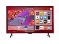 Hitachi 32 Inch Smart LED TV / DVD Combi Freeview builtin