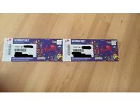 2 x VFEST SATURDAY DAY TICKETS WESTON PARK £180 for 2, £95 for 1