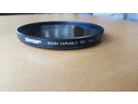 Tiffen 82mm Variable Neutral Density Camera Lens Filter