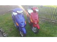 2 Brand New Unregistered scooters