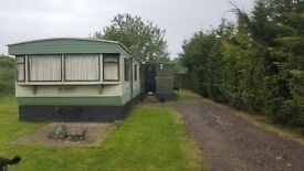 Mobile home 2 bedroom to let lovely rural position