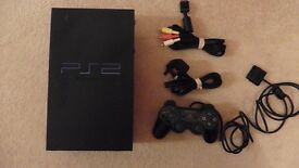 PS2, Console, controller and leads
