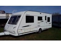 ELDDIS ODYSSEY 525 5 berth luxury caravan 2008 with mover & awning
