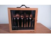 Dunlevy 44 piece cutlery set
