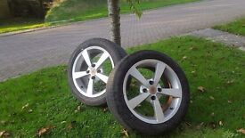 "16"" Alloys ( Wolf race , Asia tech ) including tyres"