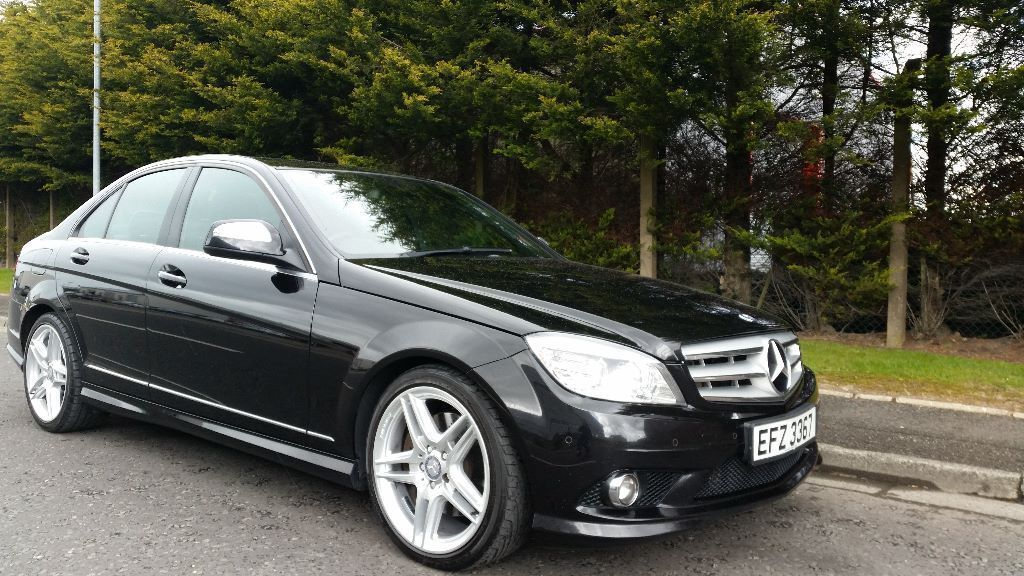 september 2008 mercedes c320 cdi sport automatic full mercedes benz service history mot april. Black Bedroom Furniture Sets. Home Design Ideas