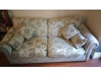 Sofa (from Lee Longlands) for Sale (205cm wide) £30 - A few stains, but in overall good condition