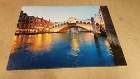 canvas river venecia