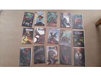 Spawn comics issues 61 to 75 mint condition