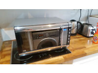 Breville vmw154 microwave oven and grille