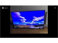 """Hisense 55"""" 4K ultra hd smart led tv. Slight shadow on top(hard to notice) (NO STAND) CAN DELIVER"""