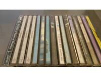 Selection of 34 original CDs