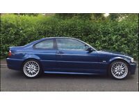 Bmw 330ci m sport , blue ,automatic, full bmw dealership history , mot till June 2017,
