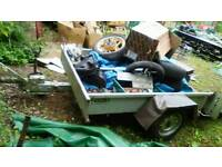 Lolode mower/quad/motorbike/generak use trailer