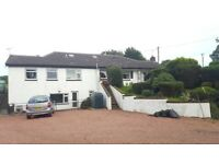 2 bedroomed apartment with optional livery. Electric and heating included in price.