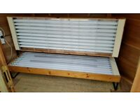 DOUBLE PINE SUNBED ( 18 TUBE )