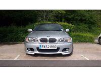 LOW MILEAGE BMW 330 CI SPORT CONVERTIBLE FSH + M - PACK