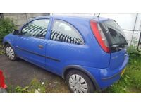 VAUXHALL CORSA 2 DOOR 1.0L 55 PLATE FOR BREAKING ONLY