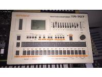 Roland 707 Vintage Analog Drum Machine