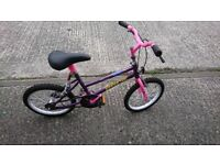 Girls bicycle approx age 5