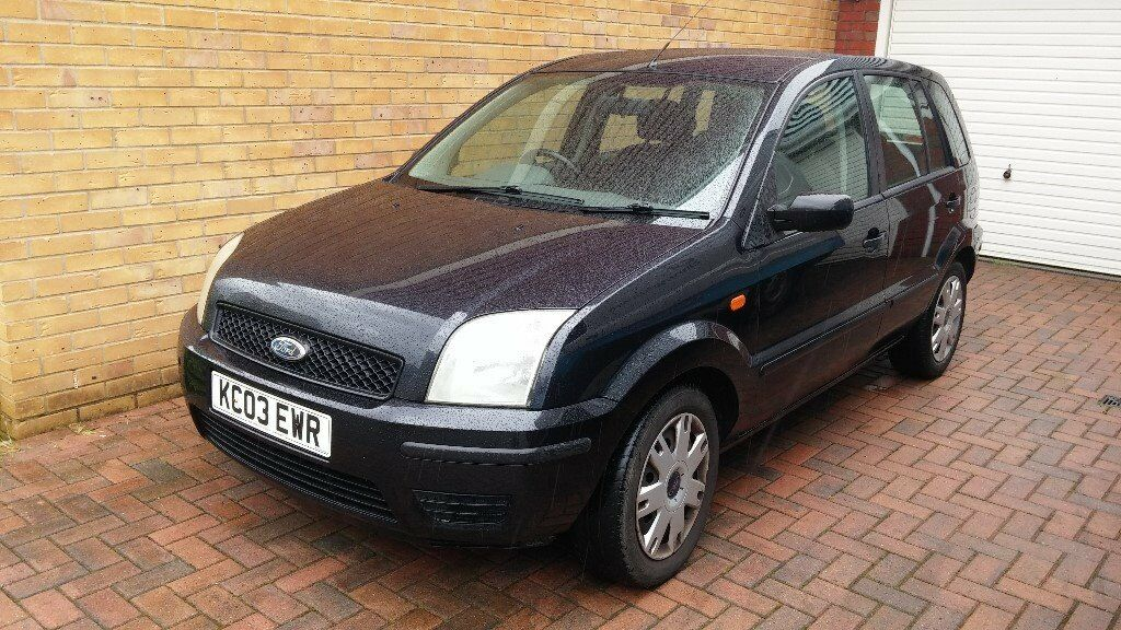 2003 black ford fusion 2 1 4 tdci diesel 60mpg 30 annual road tax in southampton. Black Bedroom Furniture Sets. Home Design Ideas