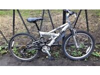 """24"""" Wheel RALEIGH Full Suspension Mountain Bike. Fully Serviced, Ready To Ride & Guaranteed."""