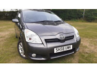 Luxury Toyota Corolla Verso Diesel 7 seater MPV Front&Back Sensor 6 Gear 6 CD Changer Cruise Control