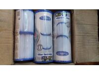 Bestway Size II Filter Cartridge Six Pack for 530 / 800 Gallon Pool Filter Pumps