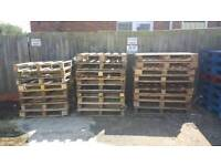 Wooden Pallets For Sale 1.2m x 1m £1 each Located in Ashford, Kent