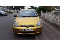 toyota yaris 1.3 petrol VVTI Automatic is in very good condition