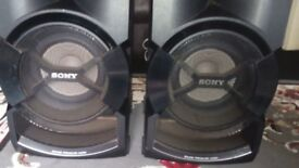 X2 Sony ss-shakex1 speakers only