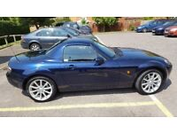 MX5 low mileage (28,000), excellent condition, two owners, 12 months MOT, will miss it!