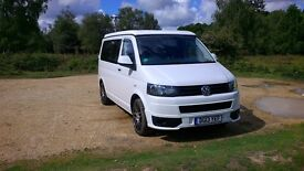 VW T5.1 Campervan. Pop top 4 berth. Excellent condition inside and out. Professional conversion.