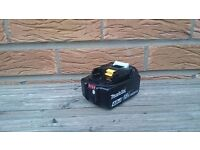 "MAKITA 18v LXT LI-ION BL1840 B (4AH)""BATTERY GAUGE"" batteries, perfect working order,(STAR) (USED)"