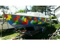 Sailing boat vivacity 20
