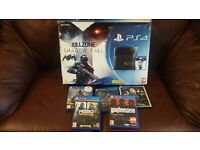Ps4 games console, 500gb. Controller. 5 games. Boxed (still have receipt ). £240