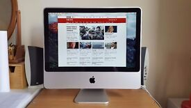 ~ Apple iMac - Mid 2007 - 20inch - 2.0GHz - 4GB RAM - 1TB HDD - Excellent Condition ~