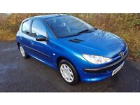 L@@K Peugeot 206 1.4 S 5 Door **YEARS MOT**VERY CLEAN**IDEAL 1 ST CAR**DRIVES GREAT