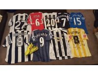 MATCH WORN SIGNED NEWCASTLE UNITED SHIRTS MEMORABILIA JOB LOT ***PLEASE READ*** 10 ITEMS!