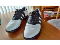 Adidas Men's Golf Shoes Size 8.5 Worn twice