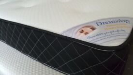 BRAND NEW EX DISPLAY DREAMOLOGY PLATINUM ORTHO kingsize mattress 150x200cm RRP£299 HUGE SALE NOW ON