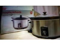 Morphy Richards Slow Cooker. Brand New boxed. Collect today cheap