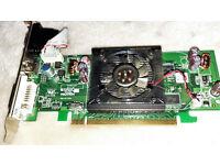 Nvidia Corp E220370,BTC-202 B, 466851-001 Video Card w/ Cooling Fan T83609