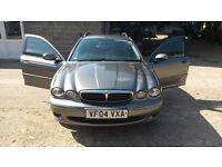 Jaguar X-type 2Lt Diesel Estate SWAP FOR A 7 SEATER of a CAR WITH HEIGHT. JAG IS TOO LOW n SPORTY