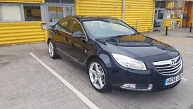 "Vauxhall Insignia 2.0 Turbo saloon FSH, 19"" alloys"