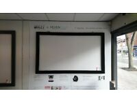 5 ft projector screen fixed RRP £499